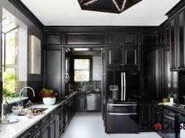 đa phần sử dụng màu đen để tạo ấn tượng sâu sắc trong từng chi tiết qua cách phối màu đen trắng độc đáo