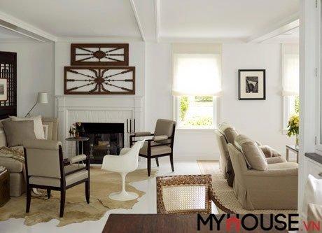 bí quyết thiết kế nội thất đơn giản nhưng nổi bật với không gian trắng
