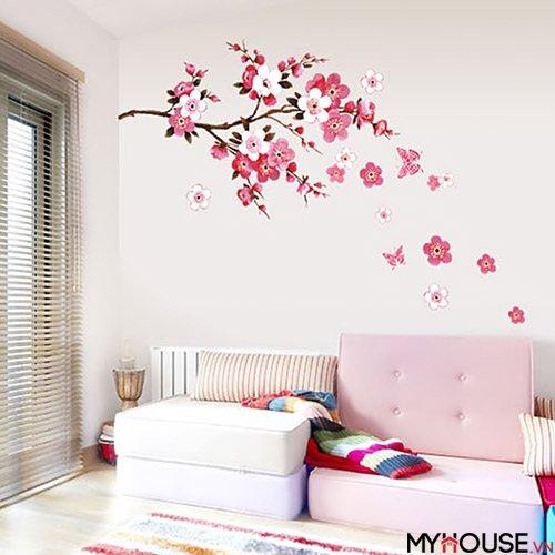 thay đổi lớp sơn tường, dán một vài tấm sticker xinh xắn hay mua sắm những vật dụng nội thất mới là căn nhà đón tết