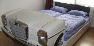 Giường độc đáo Mercedes đưa bạn đi khắp nơi trong giấc mơ
