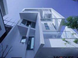 khám phá thiết kế nhà phố ( nhà 4 tầng ) với 4 mặt đón nắng xinh xắn
