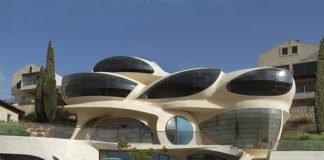 kiến trúc nhà tương lai không bị giới hạn trong khuôn khổ mà mở rộng không giới hạn về hình dáng