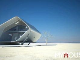 Nhà tương lai California Roll được trang bị những tính năng công nghệ mới nhất. Nó tạo ra thiết kế kiến trúc mang tính di động hơn cho không gian sống của chúng ta.