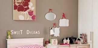 tông xoẹt tông cho không gian phòng ngủ cho trẻ