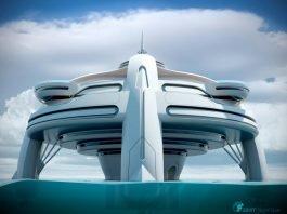 Tác giả của thành phố nổi này là công ty thiết kế BMT Nigel Gee tới từ Southampton, Hants, Anh Quốc